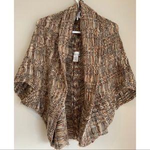 ✨3/$30 Cardigan Knit Sweater / Shrug   Size Sm/Md